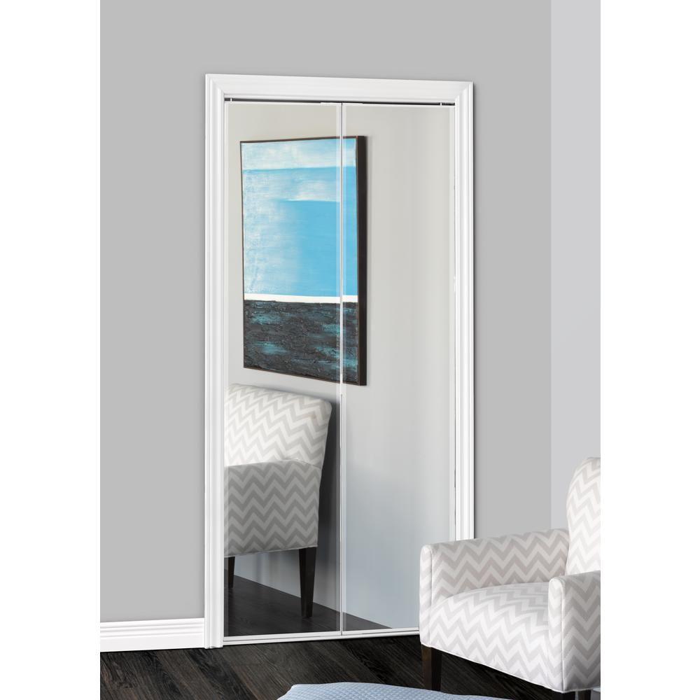 Bifold Closet Doors With Mirrors In 2020 Mirrored Bifold Closet Doors Bifold Closet Doors Mirror Closet Doors