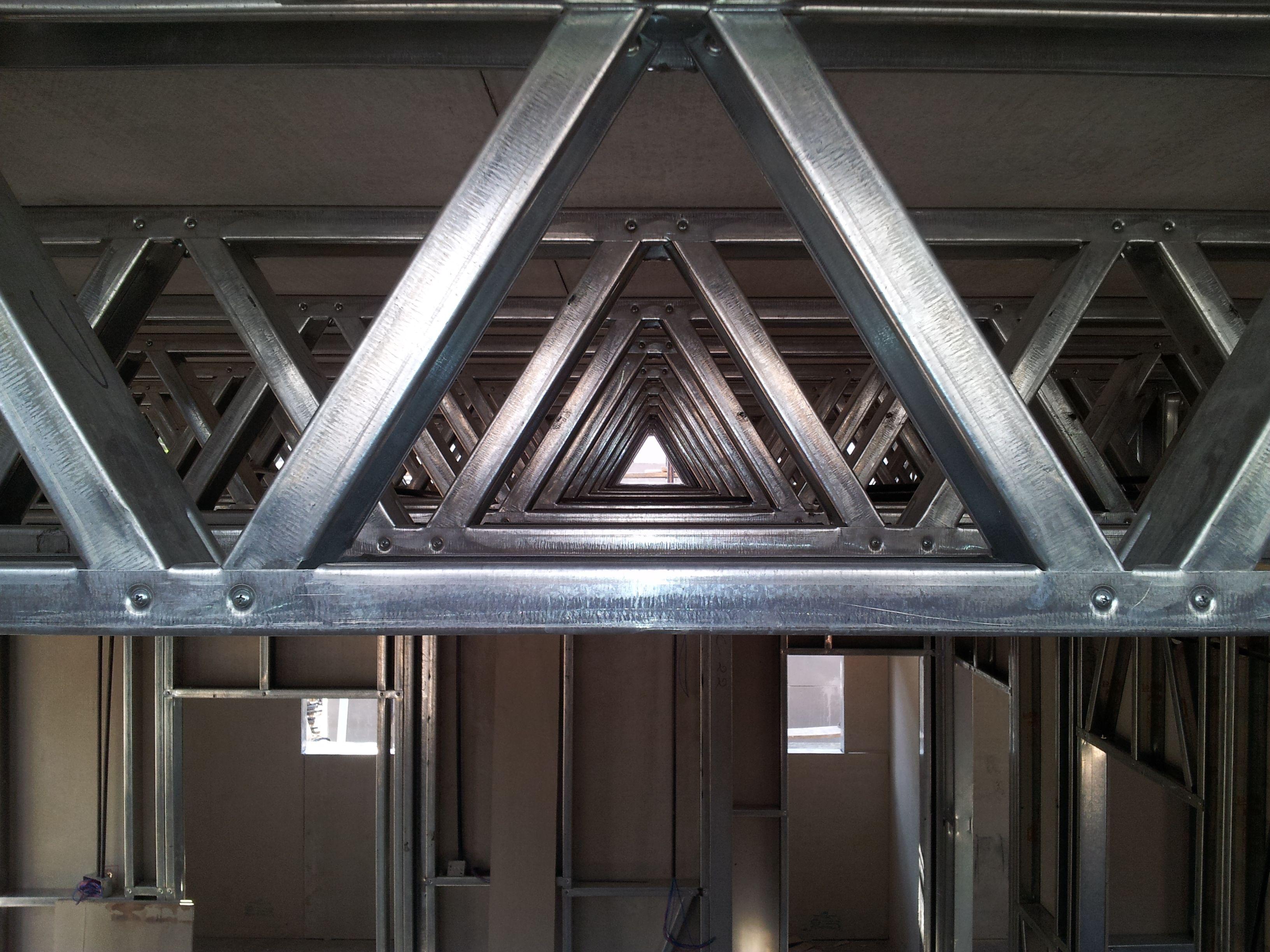 Truss structure Luifel, Interieur