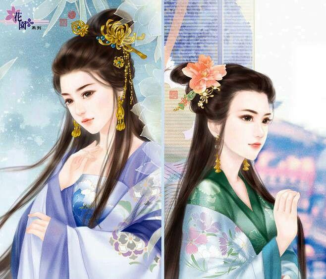 Vintage Chinese ladies.