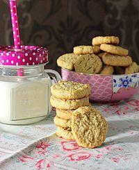 Glutenfreie Haferkekse #cookiesalad