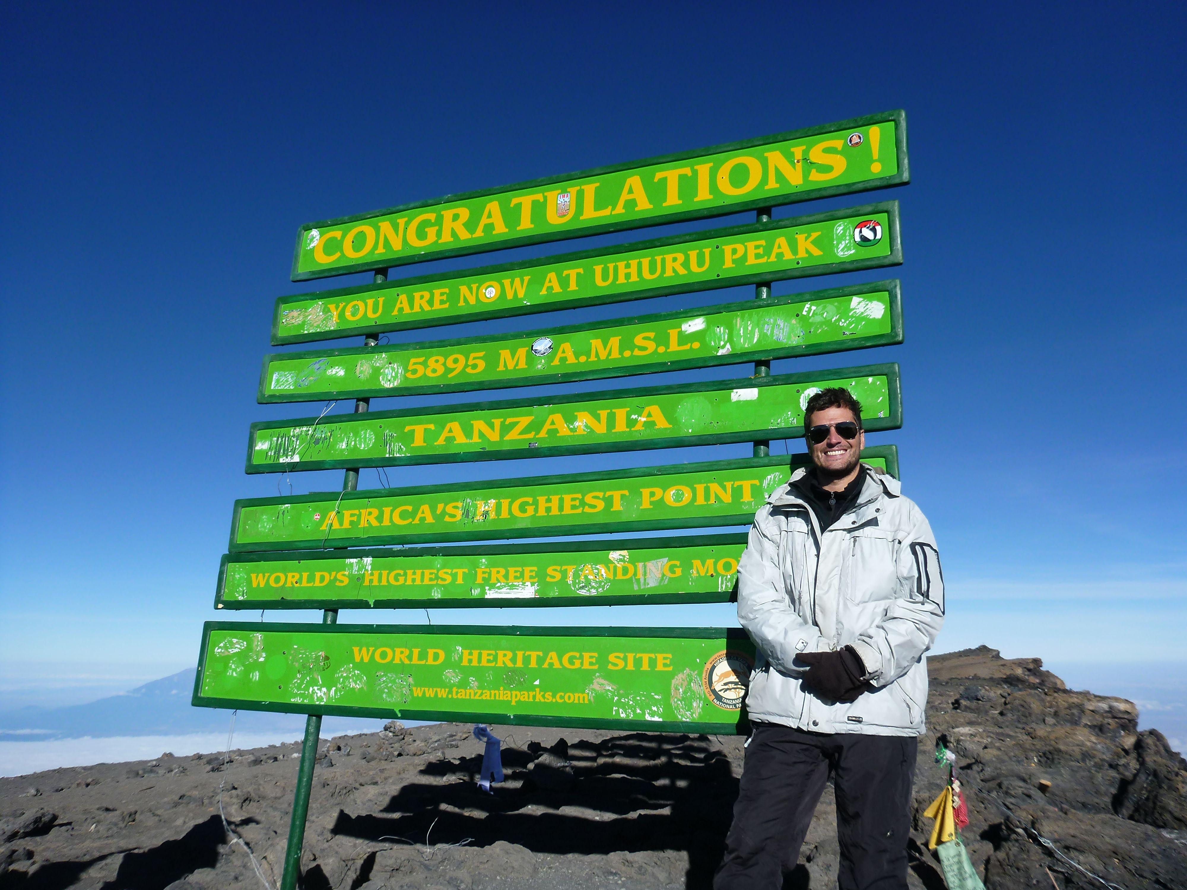 Mount Kilimanjaro em Tanzania