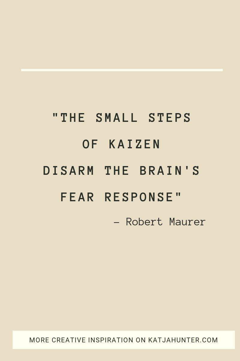 Kaizen learning will create the change you desire