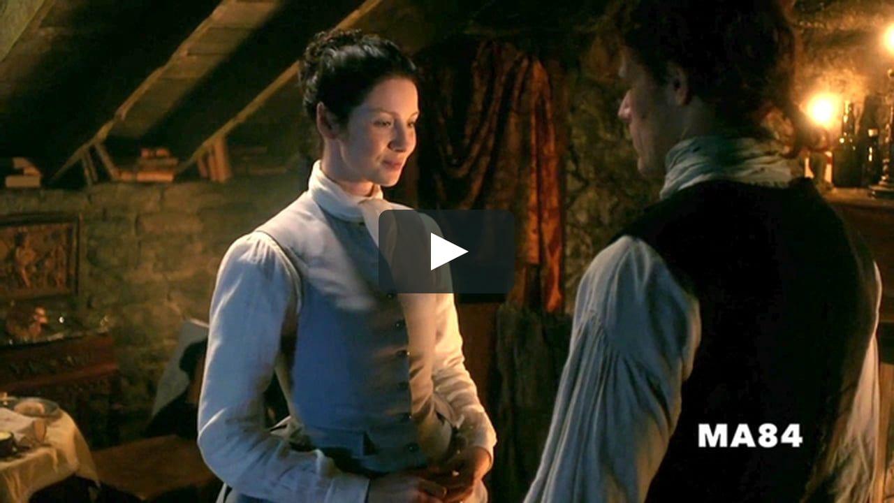 Enhanced 3x06 Reunion Undressing Scene | Outlander | Outlander