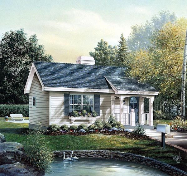 house plan 86955 cabin colonial cottage country ranch plan with rh pinterest com