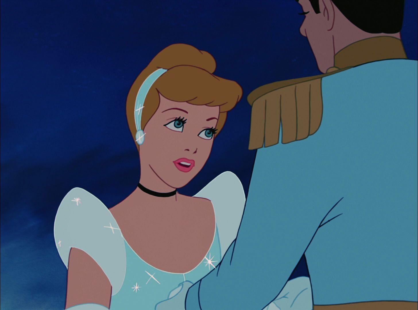 CINDERELLA & PRINCE CHARMING ~ Cinderella (1950) ...At the ball ...
