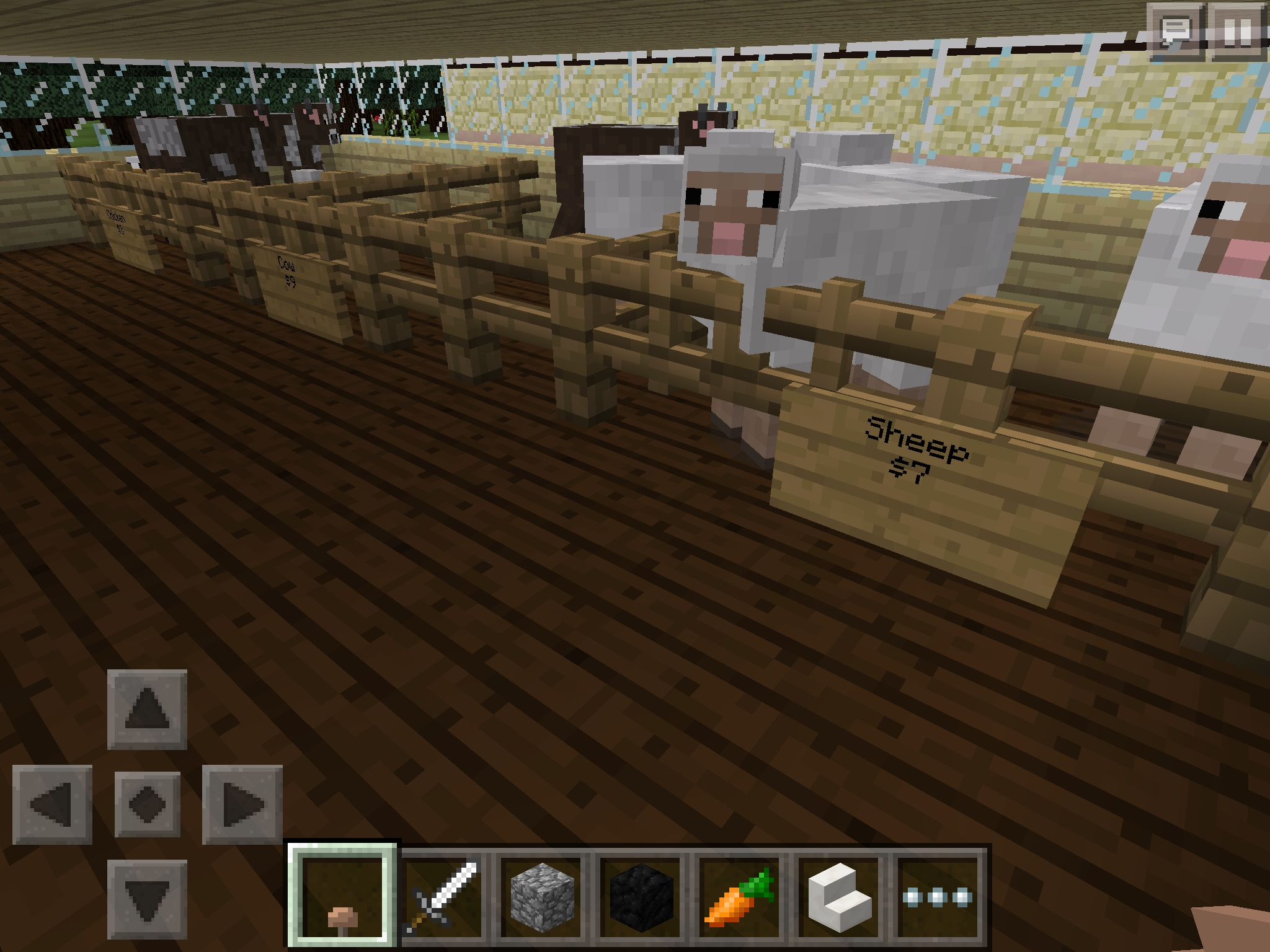 Pet Store Inside Minecraft Creations Minecraft Projects Pet Store