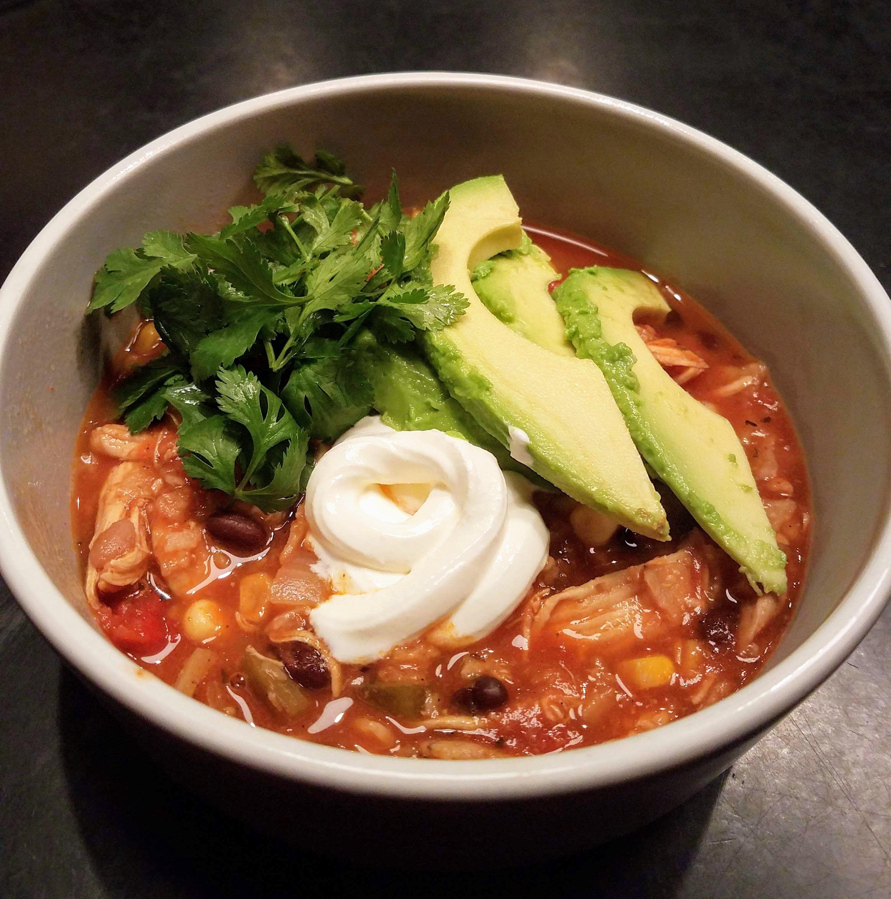Easy chicken tortilla soup recipe chicken tortilla