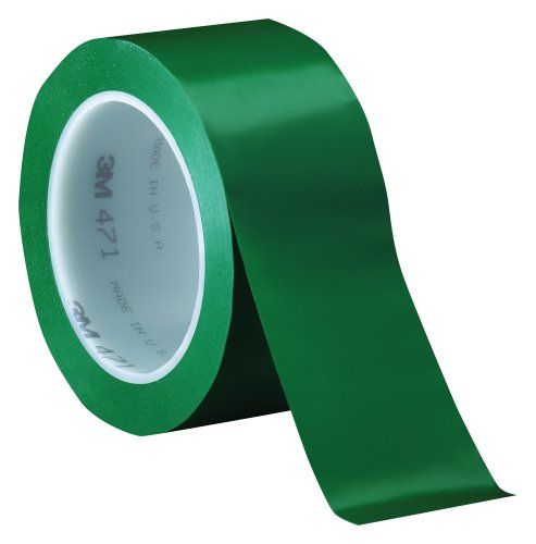3m Vinyl Tape 471 Green 2 In X 36 Yd Conveniently Packaged Pack Of 1 2015 Amazon Top Rated Electrical Ta Basic Office Supplies Tape Window Electrical Tape