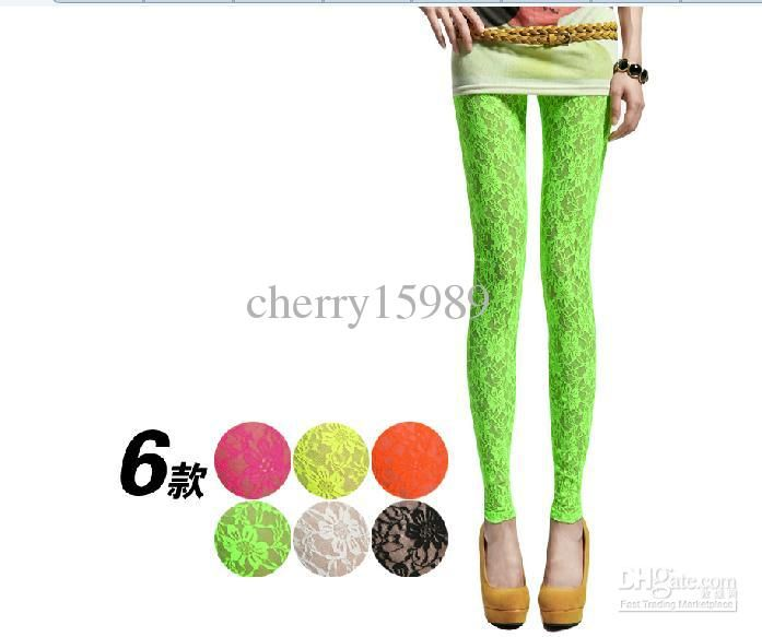 leggings candy color choose lace tight woman lady leggings pants trousers sexy pants stretch lace tights sex leggings - Buy Candy By Color
