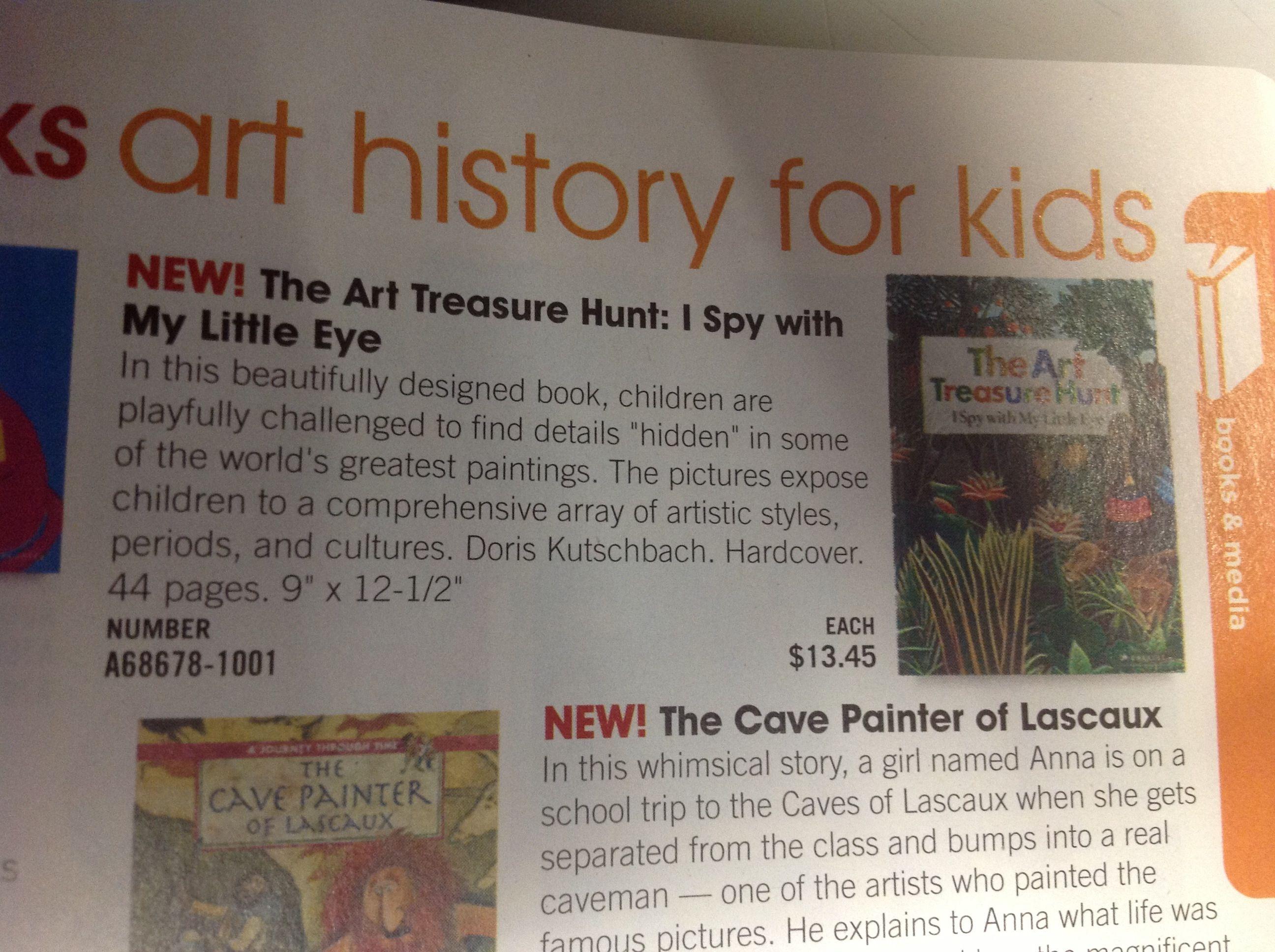Art Treasure Hunt