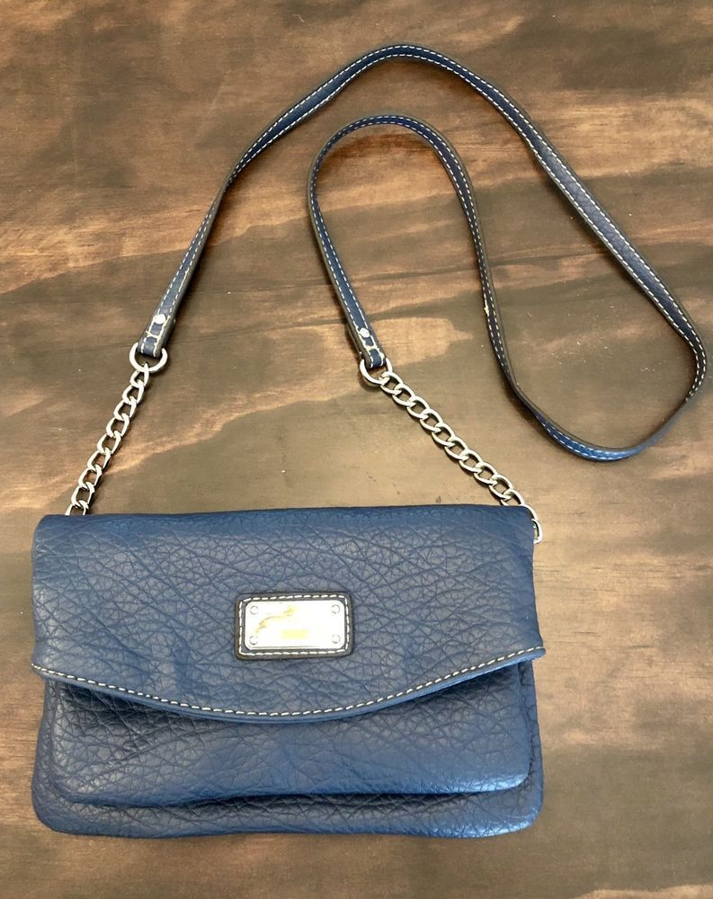 69659d5926 Brand New Nine West Long Shoulder Purse Navy Removable Straps For Clutch  Style  fashion