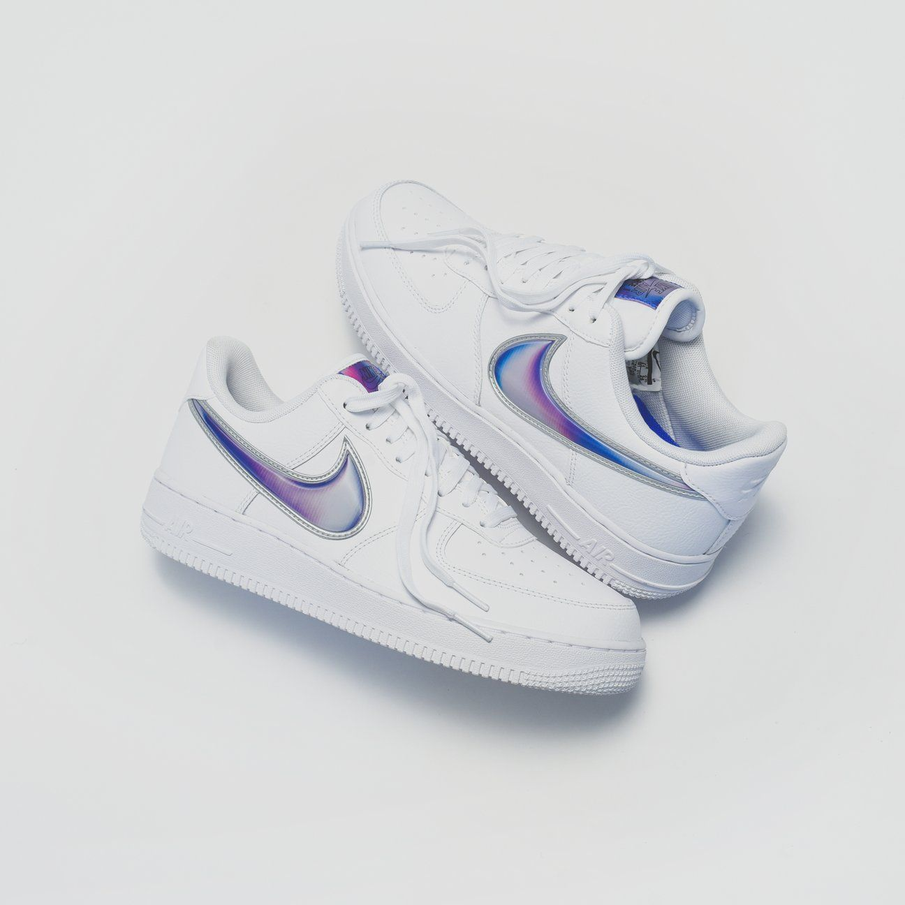 Nike Air Force 1 '07 LV8 3 - White / Racer Blue - 6 in 2019 ...