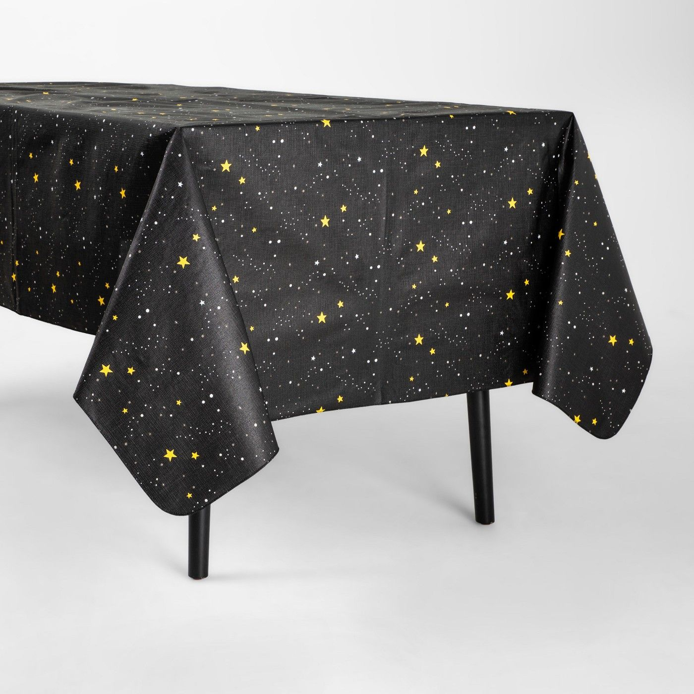 Halloween Stars Tablecloth Black Hyde and Eek! Boutique