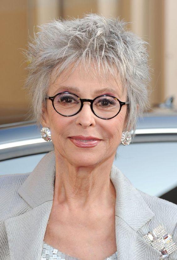 Beroemd Oudere Dames met Bril - Korte Kapsels | Face in 2018 | Pinterest @VV67