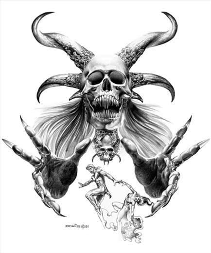 Demons Hands Drawing Tattoo Design Drawings Demon Tattoo Evil