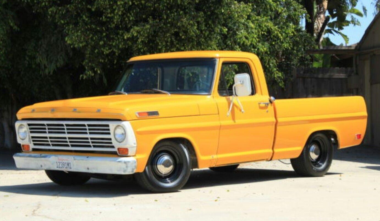 68 ford f 100 pick up truck pinterest ford ford. Black Bedroom Furniture Sets. Home Design Ideas