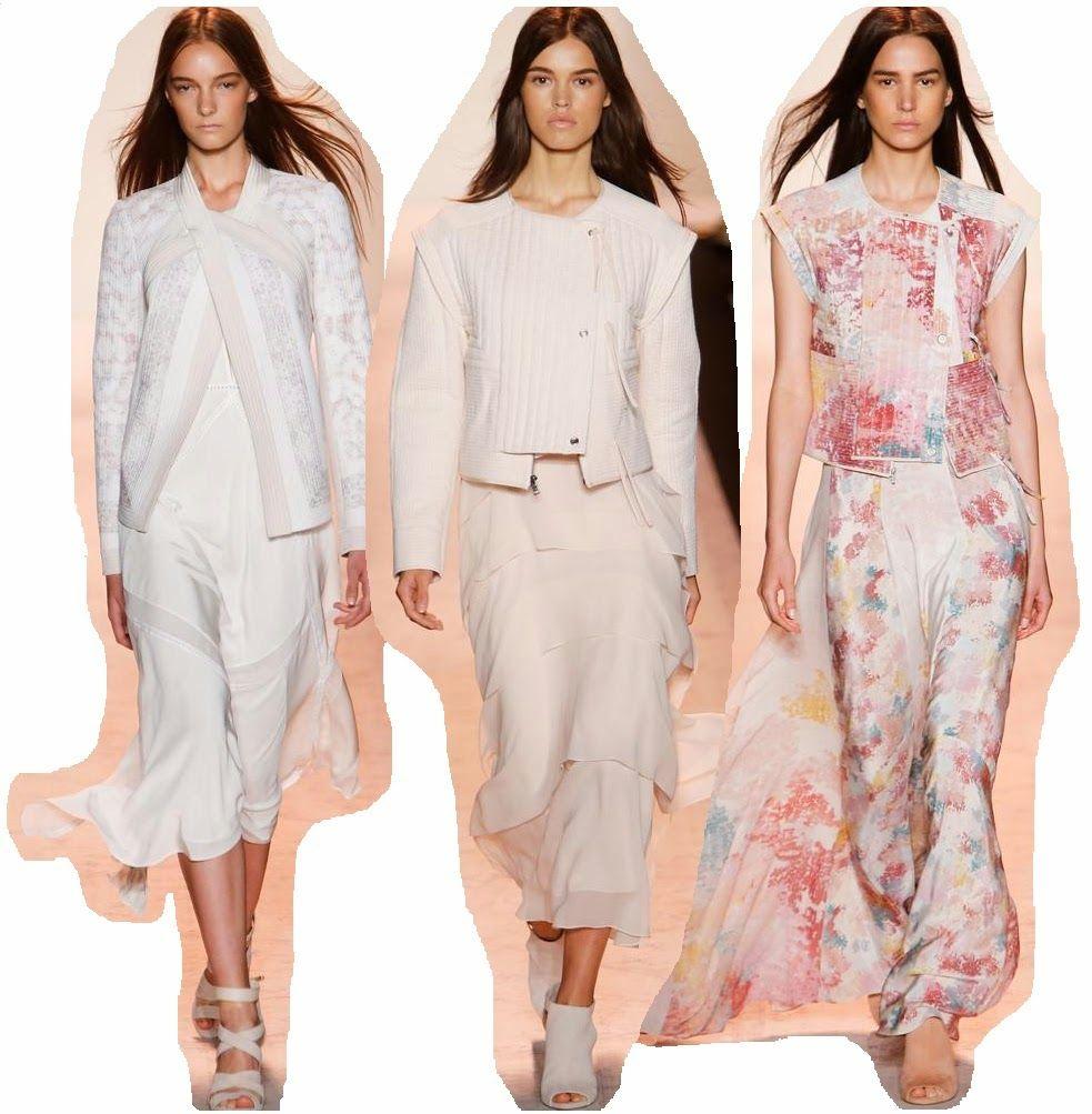 BCBG MAX AZRIA Color Frambuesa: New York Fashion Week: day 1