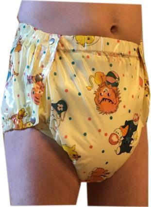 Lockable Diaper Cover Pants Anti Diaper Removal ABDL Adult Baby Windelh/öschen mit Segufix