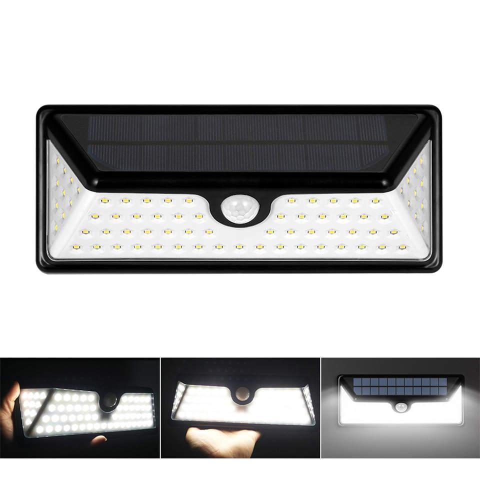 Led garden wall light led sides lighting pir sensor detection