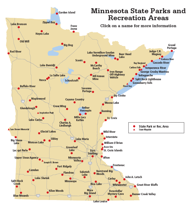 Mn State Park Map Find a state park by location map | State Parks | State parks