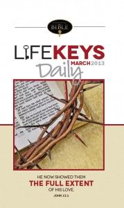 Request your free sample of LifeKEYS Daily Devotions from Unlocking the Bible!  http://www.unlockingthebible.org/donate/lifekeys-daily-devotional-sample/