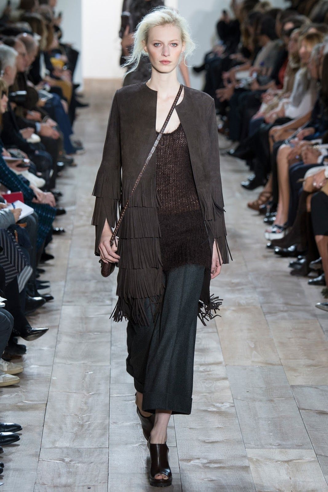 Michael Kors .Fall Winter 2014-15 Collection. New York Fashion Week