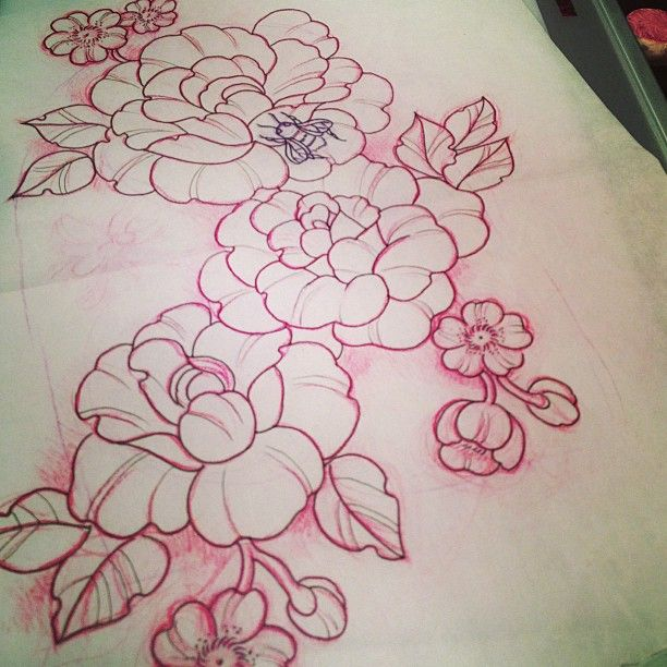 I want something like this as a chest piece but sunflowers ...