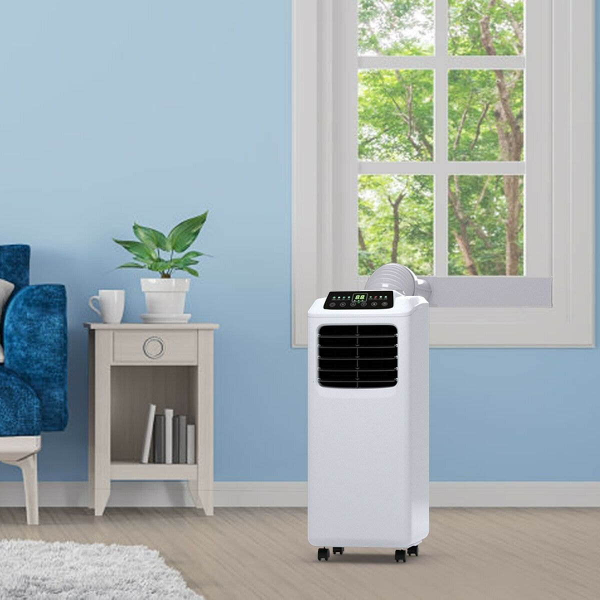 8000 BTU Portable Air Conditioner with Window Kit