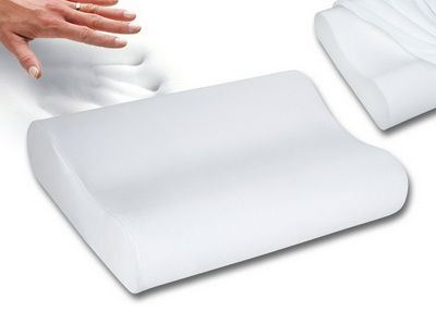 Top 10 Best Pillows For Severe Neck Pain - Contour Memory Foam Pillow For  Neck Pain