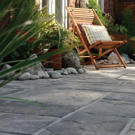 Bradstone, Ancestry Paving Abbey Storm Patio Pack - 6.40 m2 Per Pack