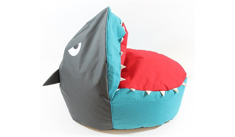 Buy kids shark beanbag from our furniture range today from