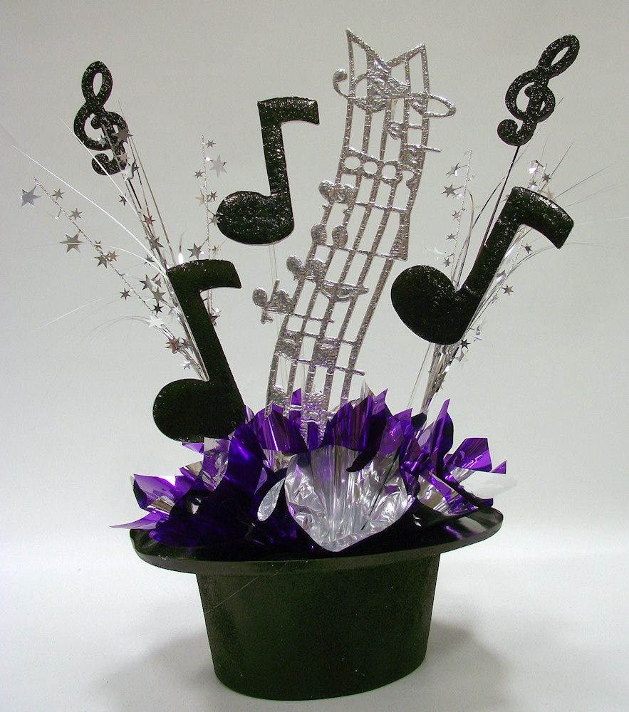 music themed centerpiece kit for party table decorations tables music themed centerpiece kit for party table decorations