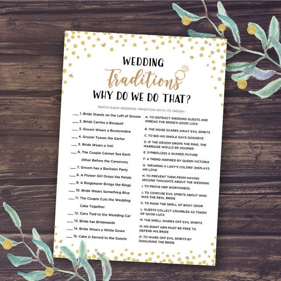 bridal shower game wedding traditions why do we do that instant download one of the most popular bridal shower games why do we do that is a fun and