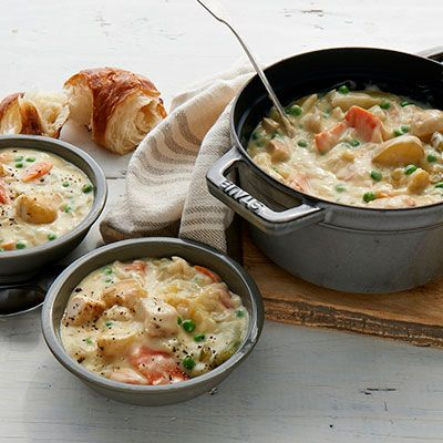 Creamy Chicken Stew Creamy Chicken Stew Stew Recipes Stew Chicken Recipe