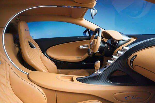 Photo of 2020 Bugatti Chiron Interior
