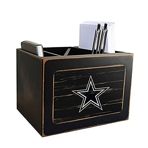 Dallas Cowboys Desk Caddy Desktop Organization Dallas Cowboys Fan Creations