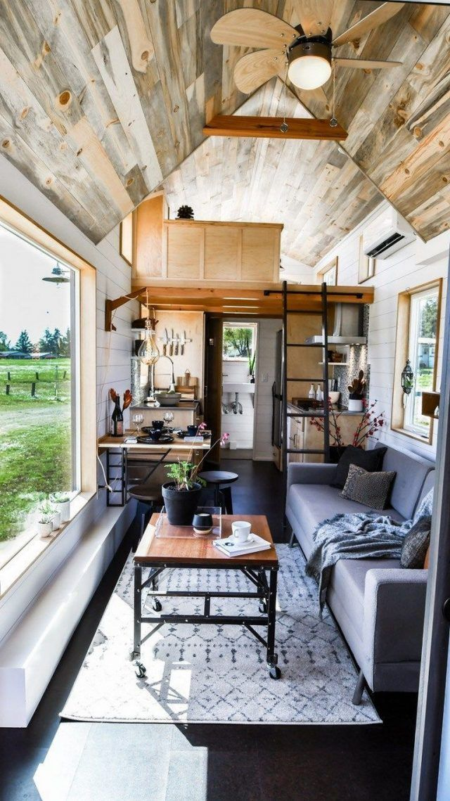 35 Exciting Tiny House Design Ideas To Inspire You Page 29 Of 35 Best Tiny House Tiny House Living Room Tiny House Design