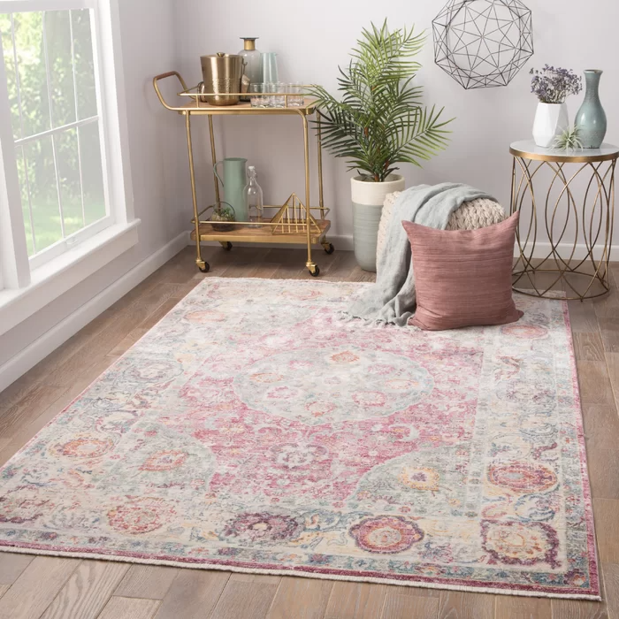 Patchen Lily White Desert Rose Area Rug In 2020 Living Room Carpet Rugs In Living Room Living Room Designs