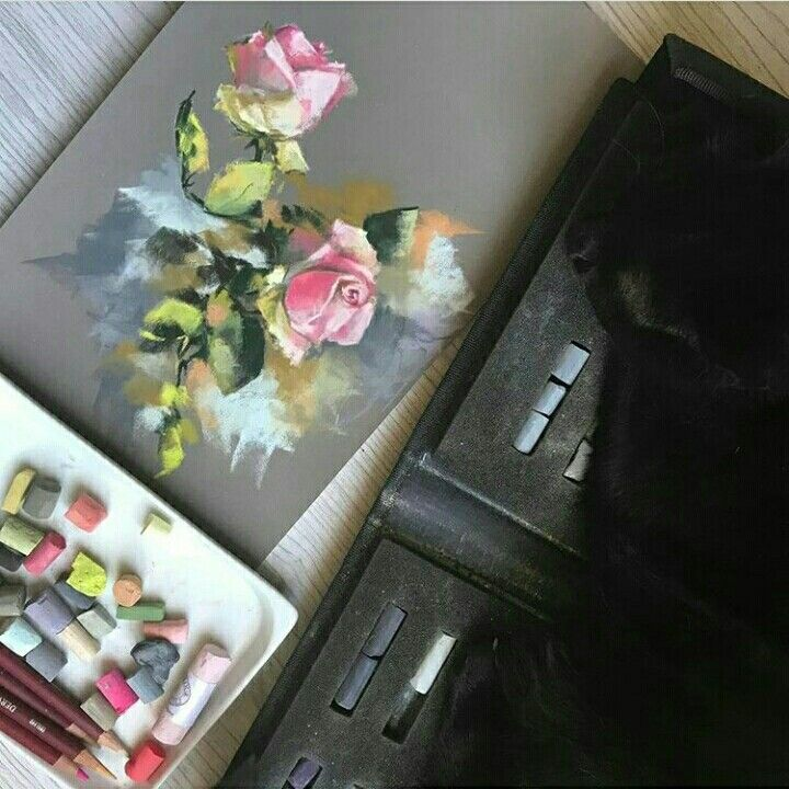 Pastel Painting, Soft Pastel
