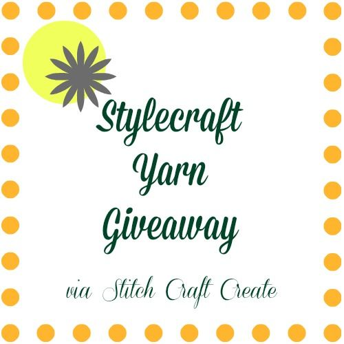 Stylecraft Yarn Giveaway via Stitch Craft Create @Stitch Craft Create
