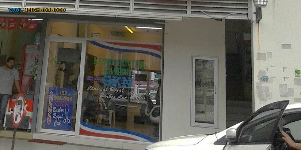 Kedai Gunting Rambut GKN - Putra Sulaiman - WebSite ...