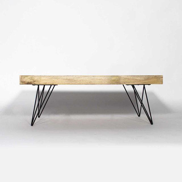 Decouvrez Notre Table Basse En Bois De Manguier Baltiq Dimensions