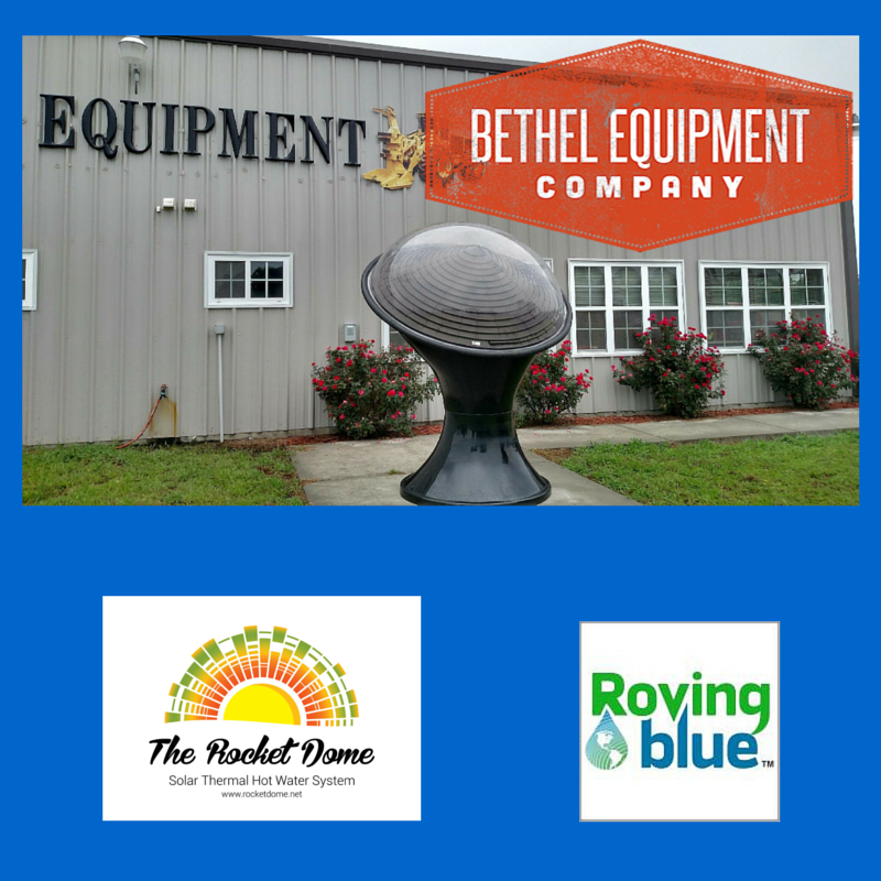 We Are Proud To Announce Our Premiere Roving Blue And The Rocket Dome Servicing Dealer Bethel Solar Equipmen Hot Water System Solar Water Heater Solar Thermal
