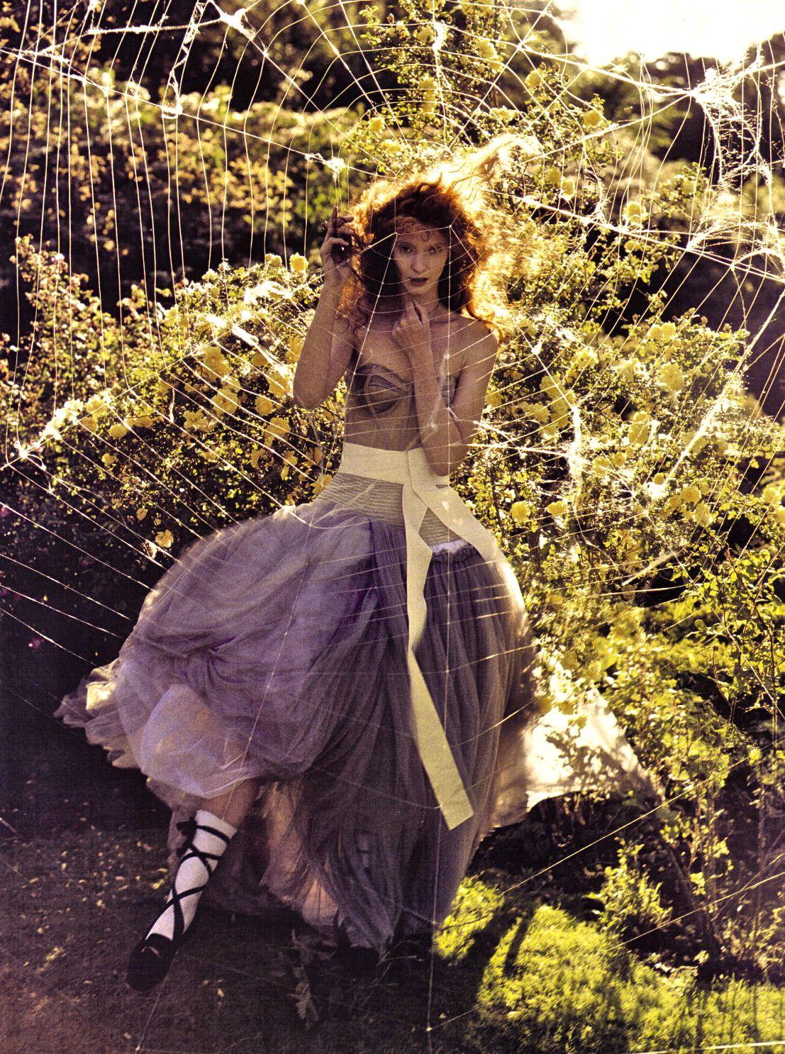 "Sunniva Stordahl in ""A Private World"" for Vogue Italia November 2008"