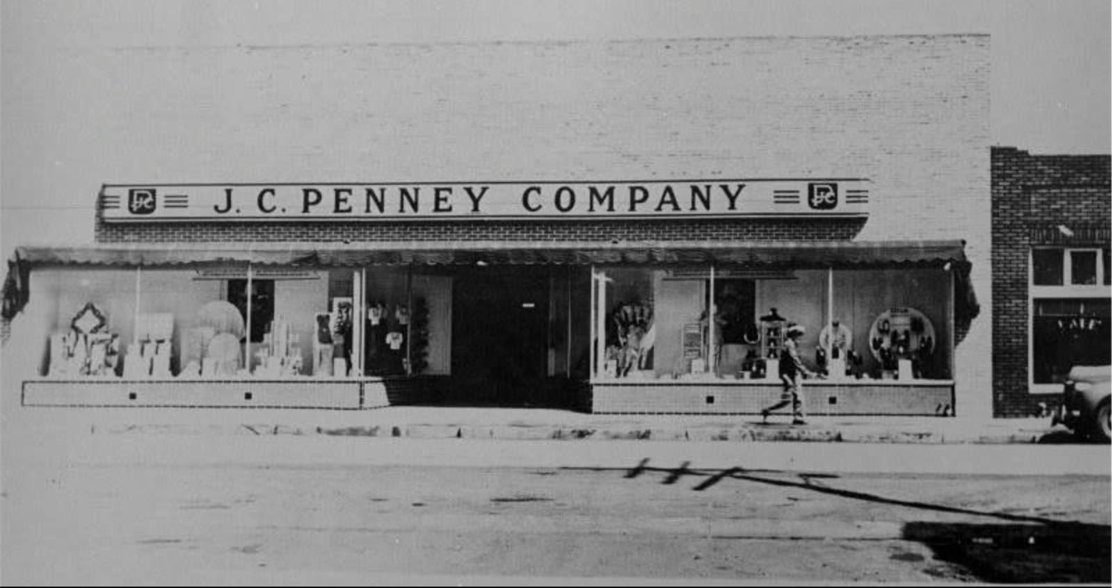 Jc penney department store in midvale about 1950 salt