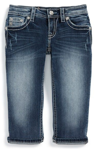 Miss Me Capri Jeans (Big Girls) available at #Nordstrom