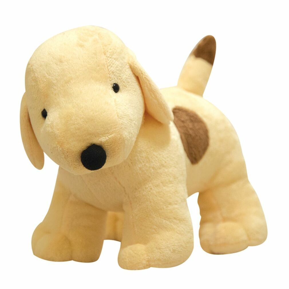 Jellycat Bashful Mutt Plush Dog Cream Puppy Black Spot Medium
