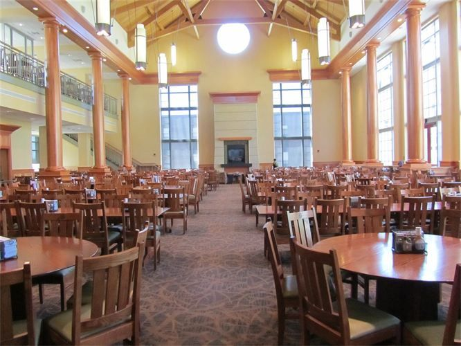 Dining Hall At Muhlenberg College Now Versus What We Had When I Was There Is No Comparison College Tour College College Mom
