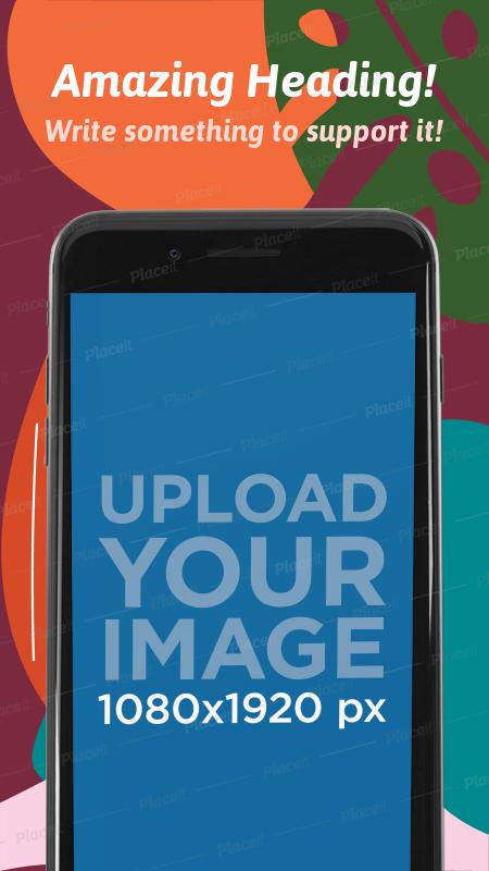 App Store Image Builder iPhone 7 Black App, Iphone