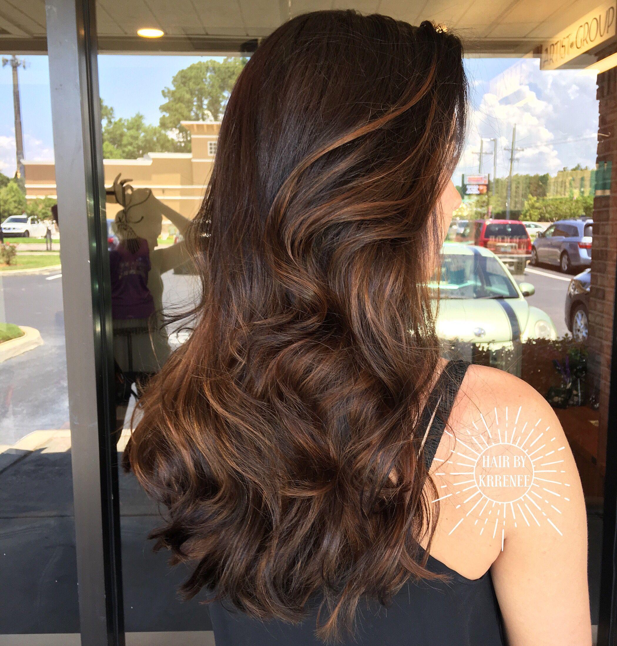 Natural Looking Highlights For Dark Brown Hair Kristenmackoul
